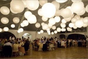 Producent papierowych lampionów ślubnych