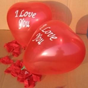 Produkcja balonów ślubnych z nadrukiem